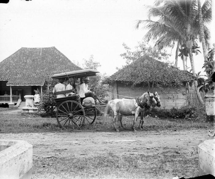 Klein Rjituig Te Solok 1900 1940 Pemandangan Dan Jalan