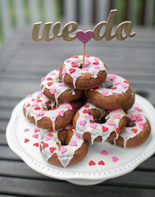 свадебные пончики