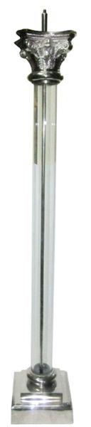 Van Roon Living Webstore - Lighting > Lighting > Floor lamps > - > floor lamp mallet 24x24x150 cm nickel