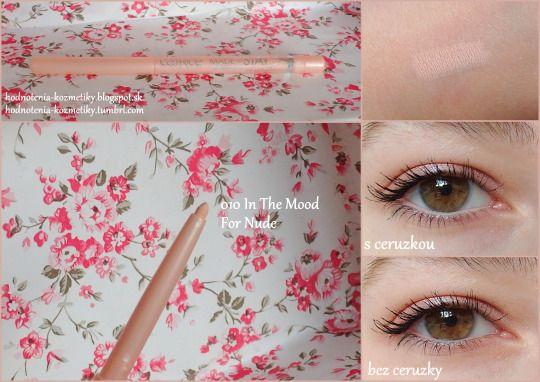 Hodnotenia kozmetiky: Catrice *ceruzka do oka* Made to Stay Inside Eye