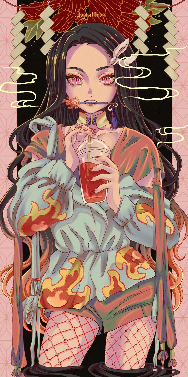 Nezuko by SonyaMoon666 on DeviantArt in 2020 Anime demon