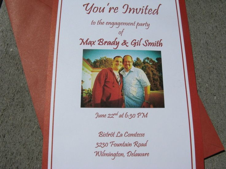 Gay Wedding Invitations: 81 Best Images About Gay Wedding Invitations On Pinterest