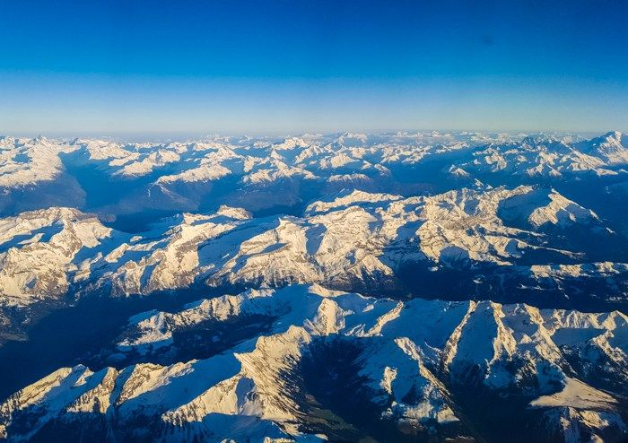 Frech Alps view