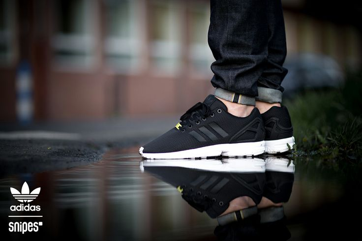 adidas flux all black