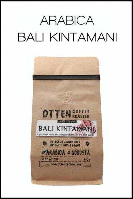 KOPI ARABICA BALI KINTAMANI | OttenCoffee - Mesin Kopi , Coffee Grinder , Barista Tools , Kopi Indonesia