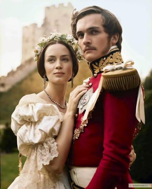 Young Victoria - a love story (written by Julian Fellows)
