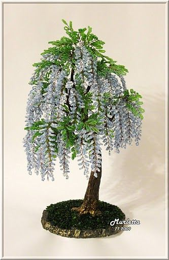 Beaded Trees - awesome to see-glitz.jpg