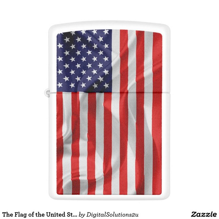 The Flag of the United States of America Zippo Lighter