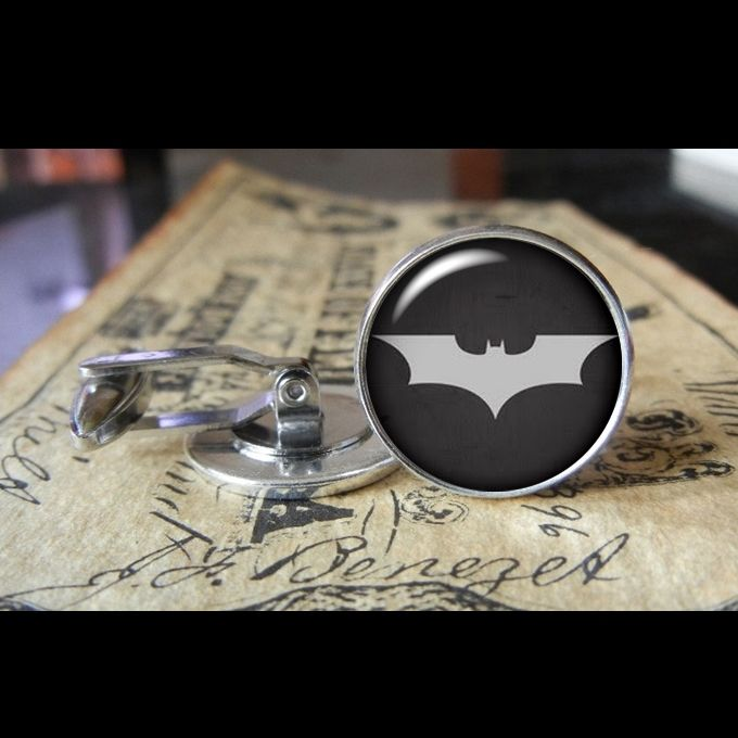 THE DARK KNIGHT  www.kustomkufflinks.com 2 sizes so far 16mm and 20mm more to come! I do wedding packages, graduations, or just for whatever you want to wear them for!