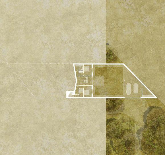 House with four gardens - unulaunu