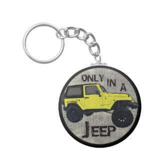 yellow Jeep Wrangler Accessories | only in a jeep lifted yellow wrangler keychain $ 3 85