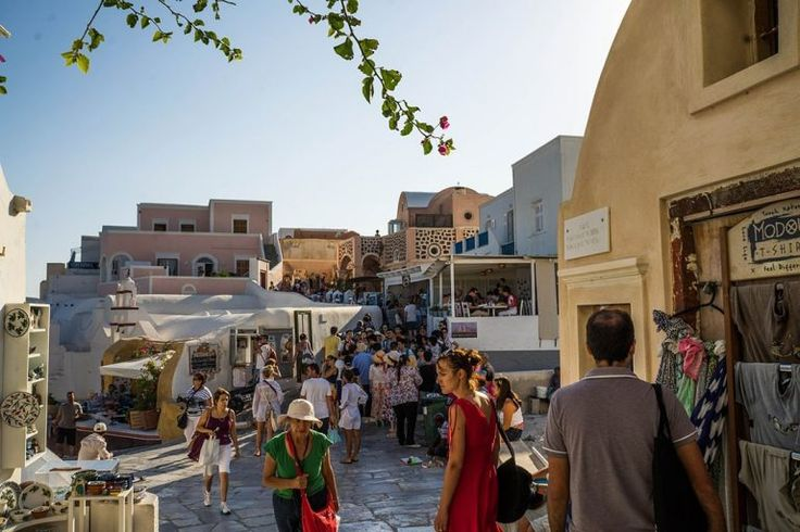 Things to do in Santorini visit Greece tourism get lost in Santorini local markets