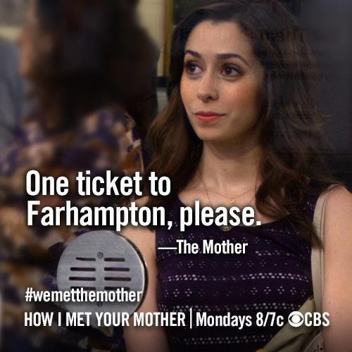 The Mother! Actress Cristine Milioti aka 'The Girl with the Yellow Umbrella'. How I Met Your Mother - Season 8 Finale #himym