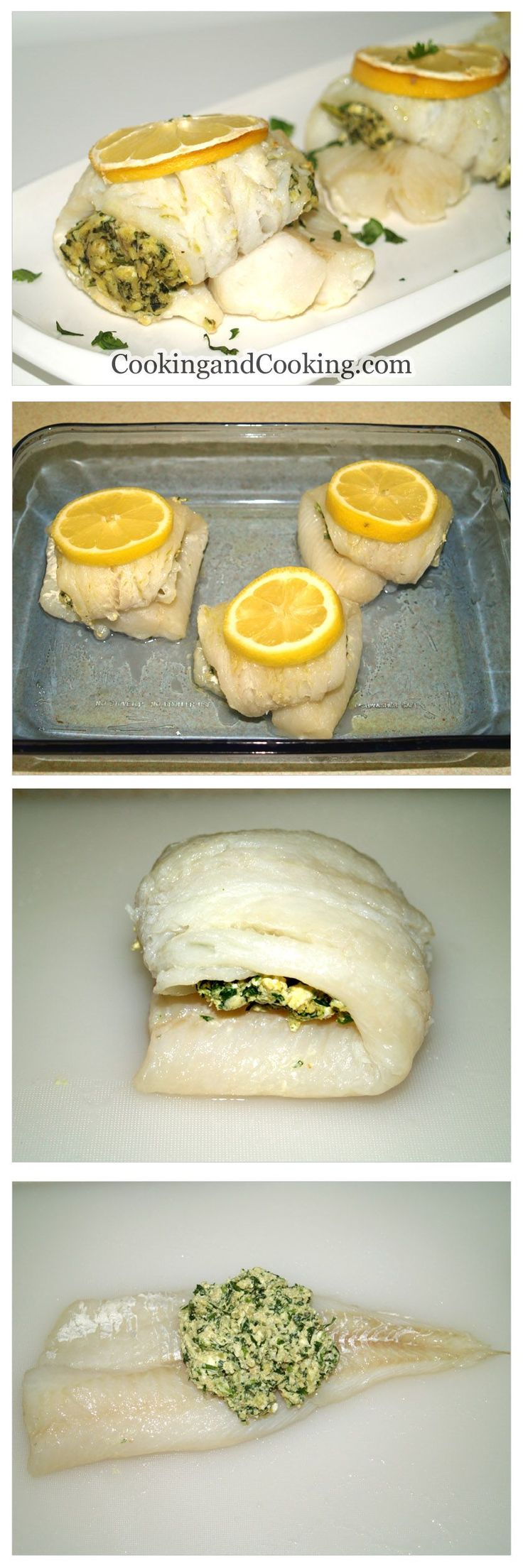 20 best ideas about stuffed fish on pinterest stuffed for How to bake fish fillet