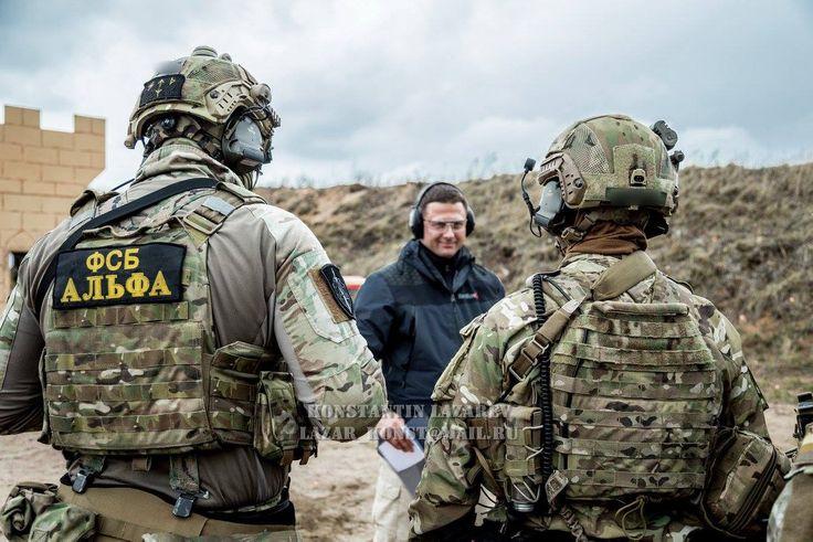 Russian FSB Alpha Group (Spetsnaz)