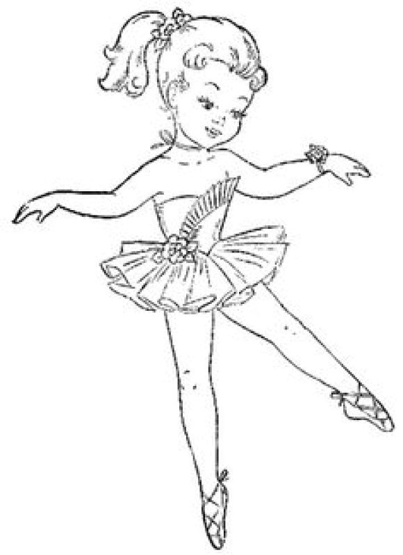 Coloring Page Ballerina Printable Ballerina Coloring Pages