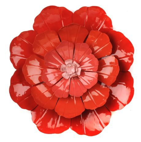 our flower ombre metal wall art is a great way to add a pop of color - Metal Flower Wall Decor