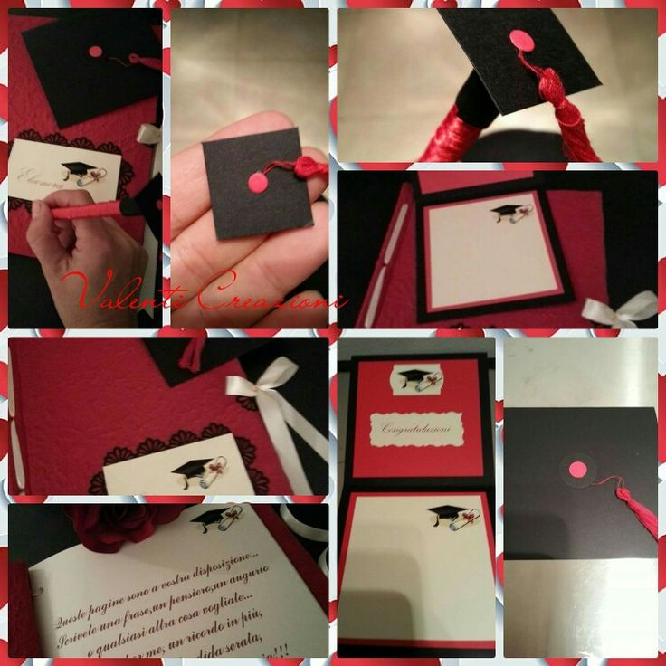 Guestbook Laurea, Congratulation Card