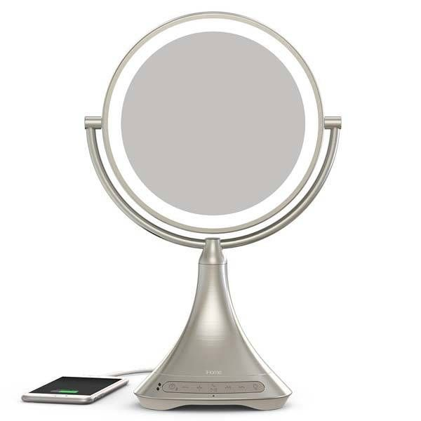 iHome Vanity Mirror Portable Bluetooth Speaker