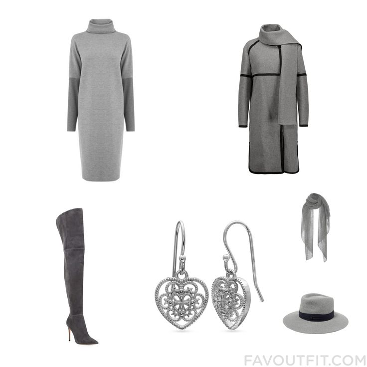 Street Style Selection Including Warehouse Dress Belstaff Coat Gianvito Rossi Boots And Silver Heart Earrings From January 2017 #outfit #look
