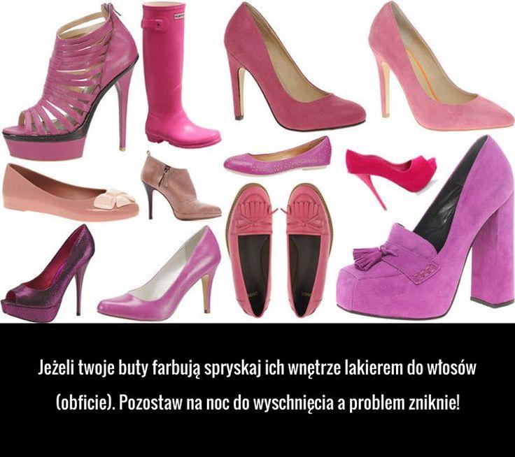Super sposób na farbujące buty