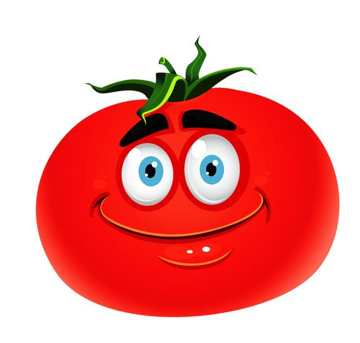 Рисунок веселые овощи и фрукты, надписью помню
