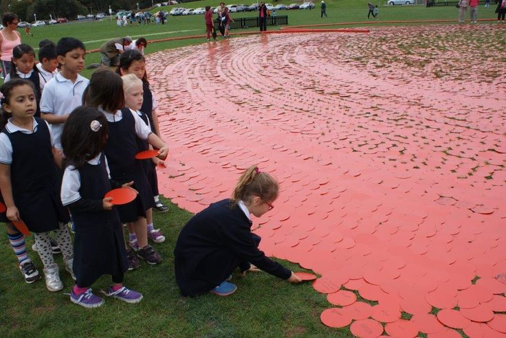 ACG Parnell College Primary students commemorating ANZAC Day
