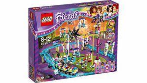 LEGO Friends – 41130 – Les Montagnes Russes Du Parc D'attractions