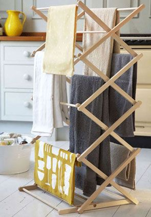 Pulleymaid™ Concertina Clothes Airer Dryer | Indoor Free Standing Laundry Drying Rack £30