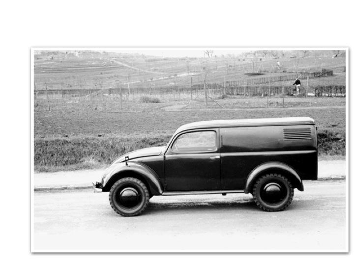 VW Bug utility vehicle