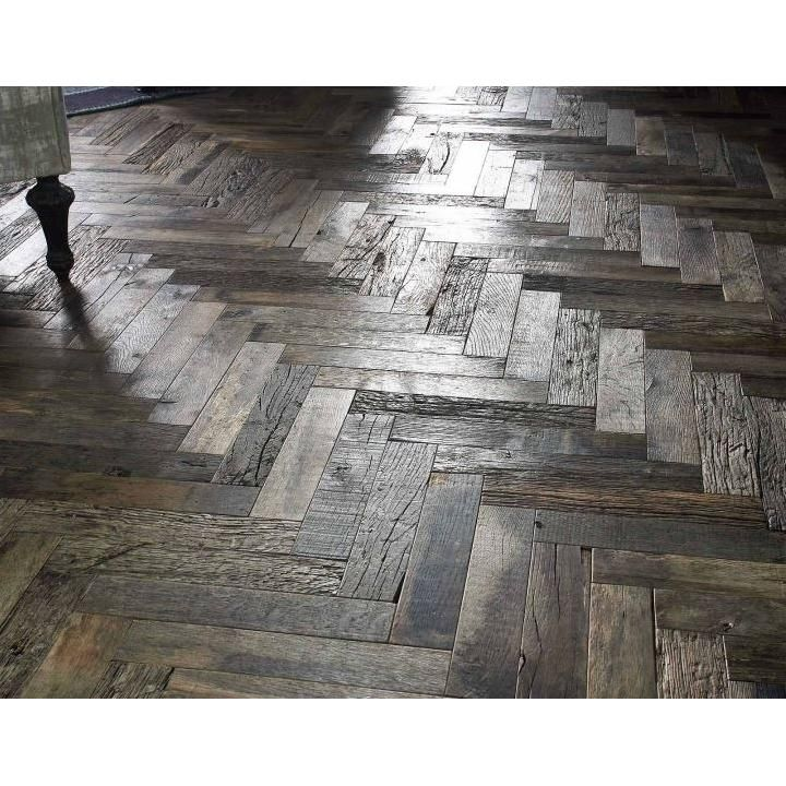 Aged Flooring - this is reclaimed so it would not be a s heavy as this.  Colour too dark