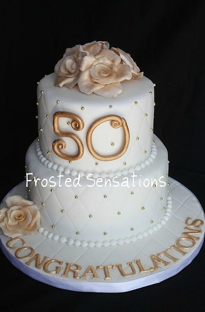 50th anniversary cakes pictures | 50th anniversary cake | Flickr - Photo Sharing!