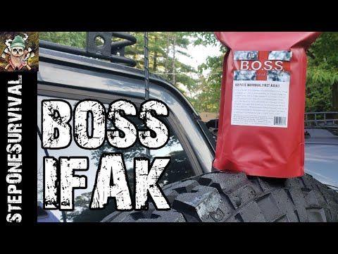 BOSS Individual First Aid Kit - YouTube   SHTF