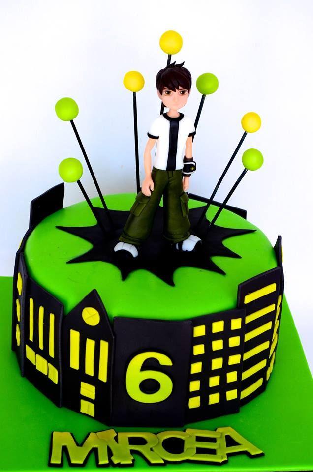13 best ben ten images on pinterest ben 10 cake kid cakes and ben 10 cake boy cakes cupcake ideas fondant mehndi tortilla cupcakes cooking birthday cakes voltagebd Image collections