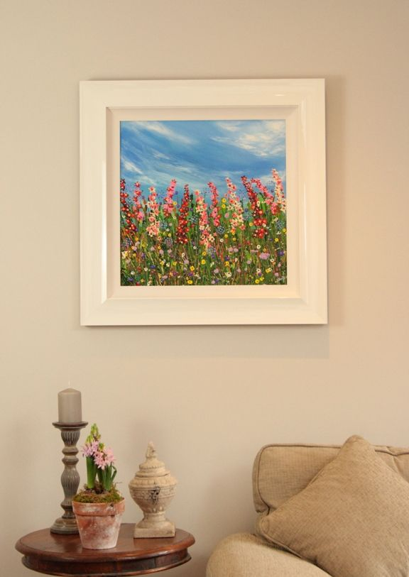 Original mixed media painting by Nicky Chubb www.creativefineart.co.uk