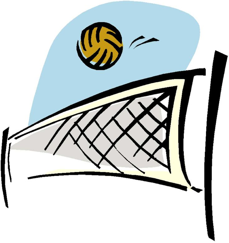clipart pictures of volleyball - photo #49