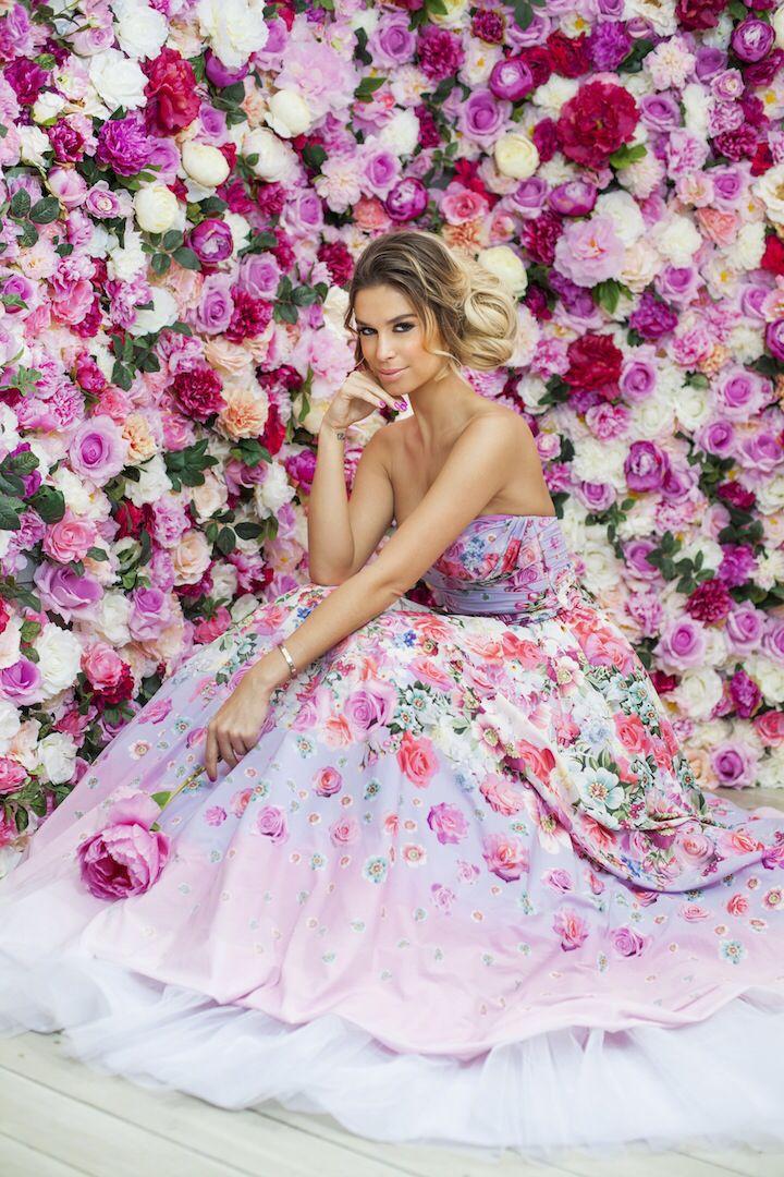 Regina Dukai  Photo: Vivien Borzi Flowers  Peonies Roses Spring May