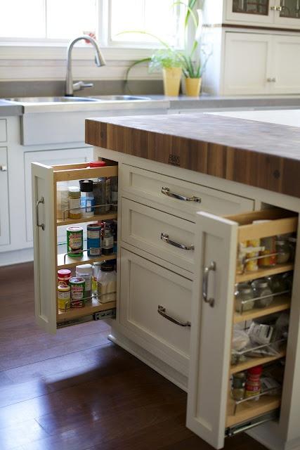 Die besten 25+ Herausziehbares Gewürzregal Ideen auf Pinterest - gewürzregale für küchenschränke