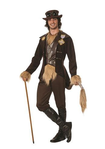 The Wizard of Oz Cowardly Lion Steampunk Mens Halloween Costume | $99.99 | The Costume Land