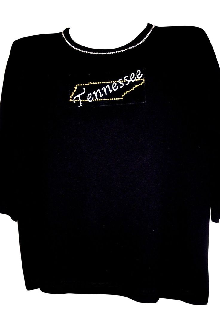 L 14/16 Tennessee State Jewelry Design Terazzo Womens 100% Cotton Knit Option