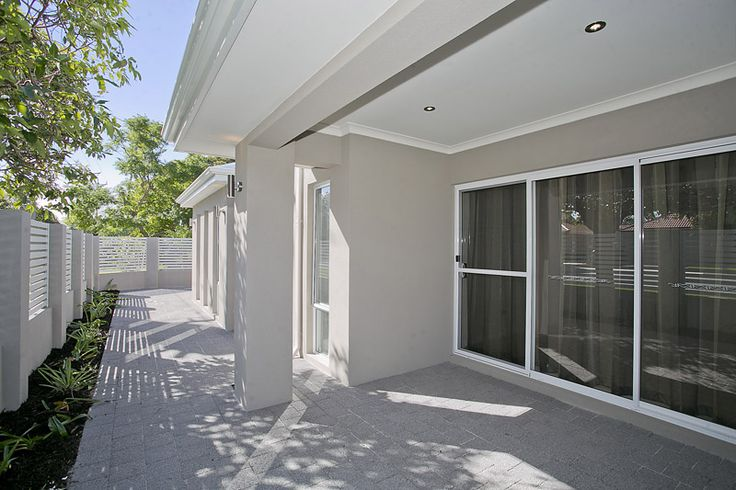 Surfmist and grey. Promenade Construction Pty Ltd Perth Western Australia | Custom Built Homes and Unit Developments | New Home Builders Perth WA