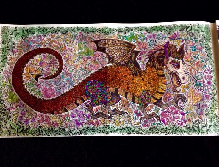enchanted forest dragon original - photo #7