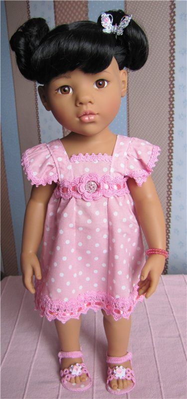 """Ieder van jullie, mijn lieve, goede kleding!"" Doll Götz / pop Gotz - collectible spelen Gotz / Beybiki. Poppen foto. Kleding voor poppen"