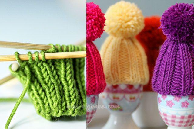 Eierwärmer stricken: Eine Mütze für´s Sonntagsei // DIY Blog