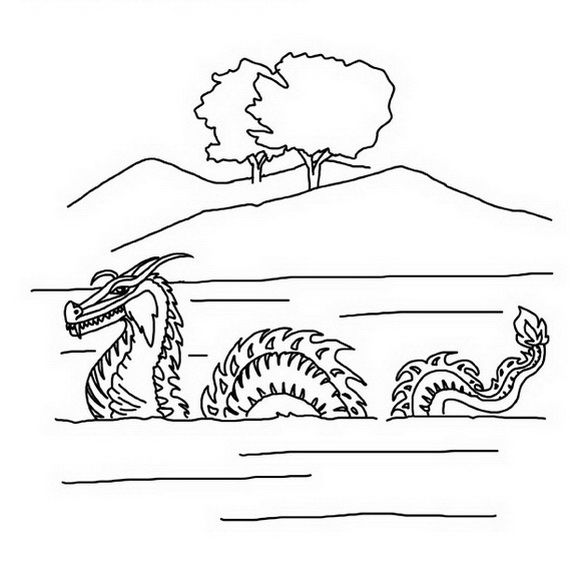 dragon boat festival coloring pages_21