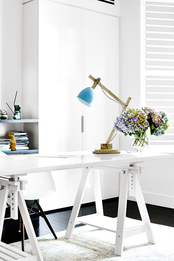 Office space- A MODERN FAMILY HOME IN INNER-CITY MELBOURNE | THE STYLE FILES