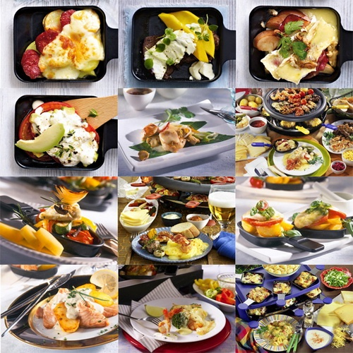 So many ideas for raclette recipes to prepare on the raclette grill #raclette-recipes #tabletop-cooking #the-tabletop-cook karenr.velata.us