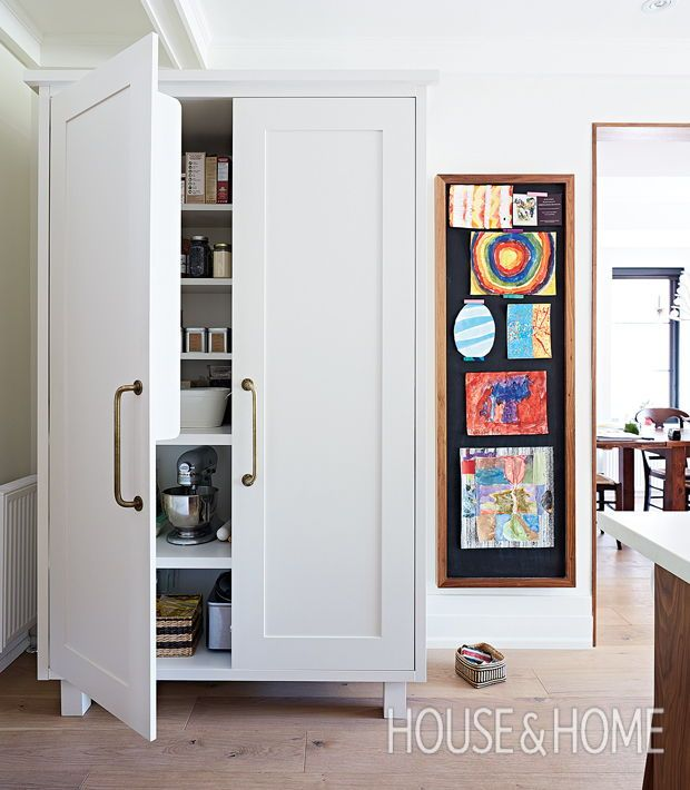 In The Kitchen A Freestanding Cupboard Is Perfect Alternative To Pantry