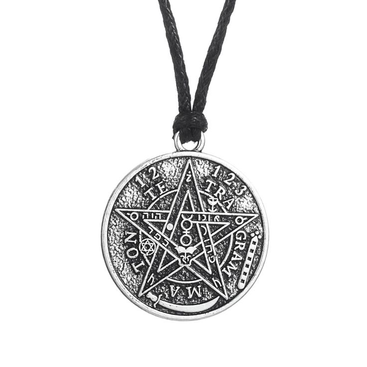 Find More Pendant Necklaces Information about Gothic Punk Wicca Vintage Accessories Pagan Supernatural Tetragrammaton Pentagram Pentacle Men Pendant Male Necklace Women,High Quality jewelry necklace set,China jewelry vogue Suppliers, Cheap jewelry stand for necklaces from Talisman Jewelry Factory on Aliexpress.com