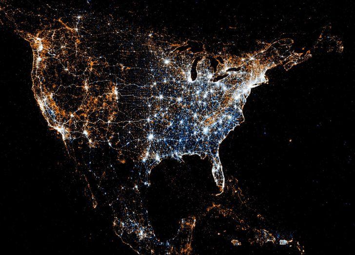 Mapa dos Estados dos Estados Unidos da América, EUA Mapas, States USA Mapas